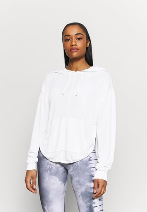BACK INTO IT HOODIE - Mikina s kapucí - powder white