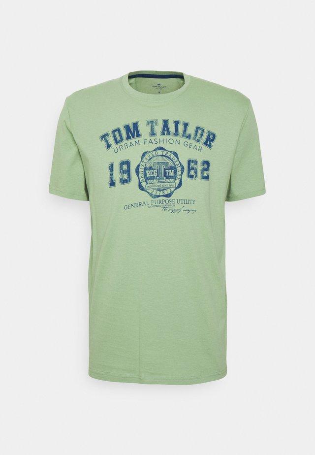 LOGO TEE - T-shirt print - light mint green