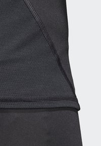 adidas Performance - Alphaskin Sport+ 3-Stripes TeALPHASKIN SPORT+ 3-STRIPES LONG-SLEEVE TOP - Sports shirt - black - 4
