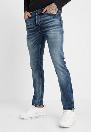 JJITIM JJORIGINAL JOS - Slim fit jeans - blue denim