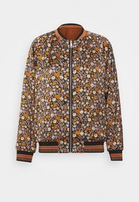 Scotch & Soda - PRINTED REVERSIBLE BOMBER JACKET - Bomberjacks - blue - 0