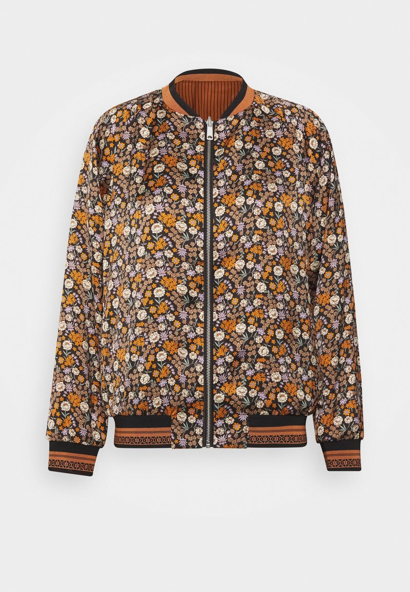 Scotch & Soda - PRINTED REVERSIBLE BOMBER JACKET - Bomberjacks - blue
