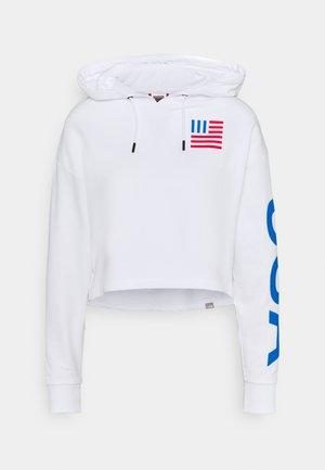 IC HOODIE - Sweatshirt - white