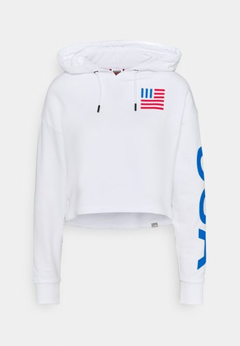 IC HOODIE - Sweater - white