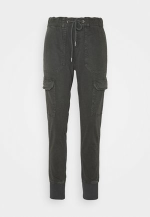CRUSADE - Cargo trousers - charcoal