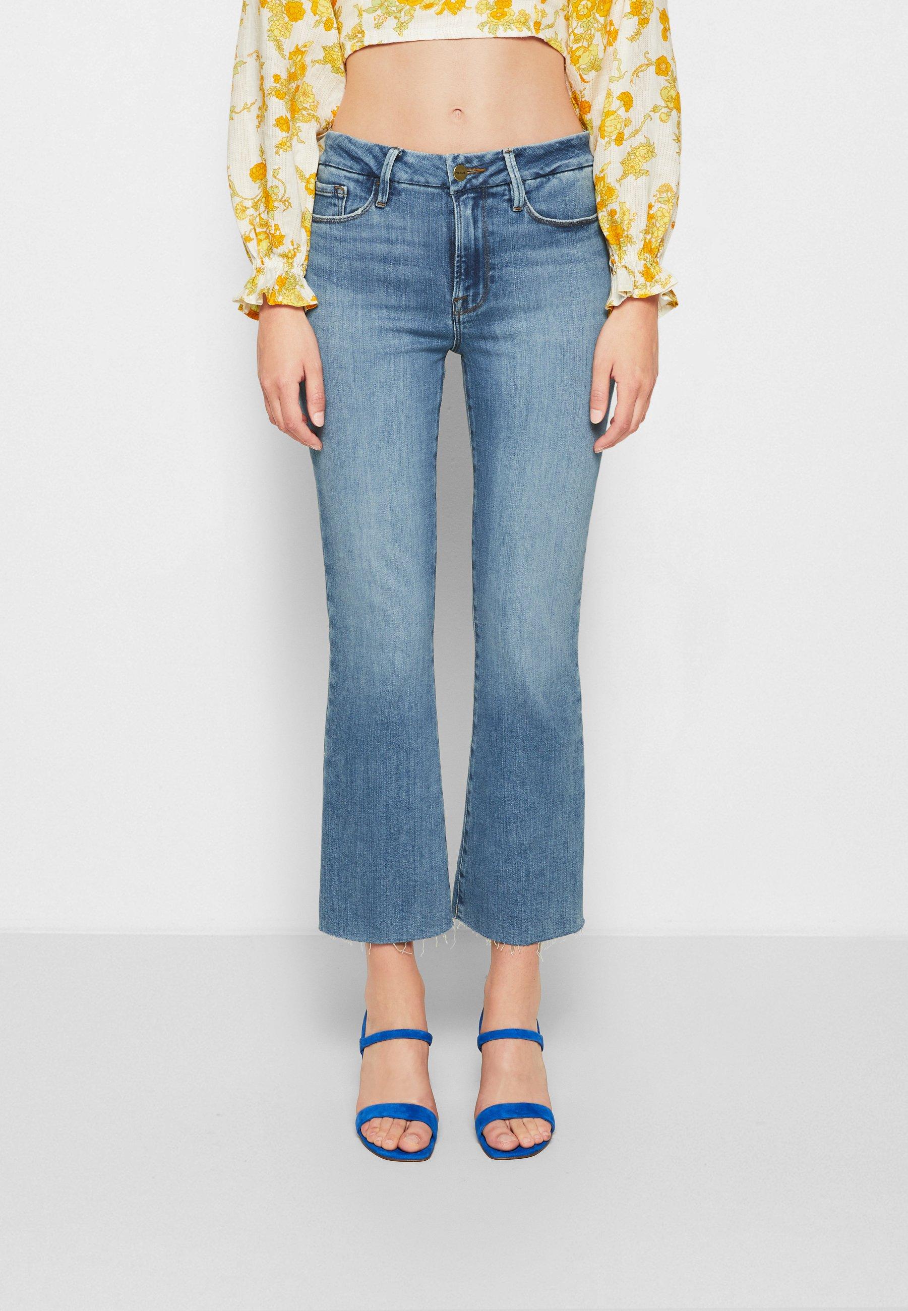 Donna LE CROP MINI BOOT - Jeans bootcut