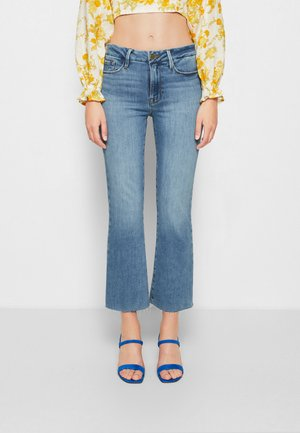 LE CROP MINI BOOT - Jeans Bootcut - tide pool grind