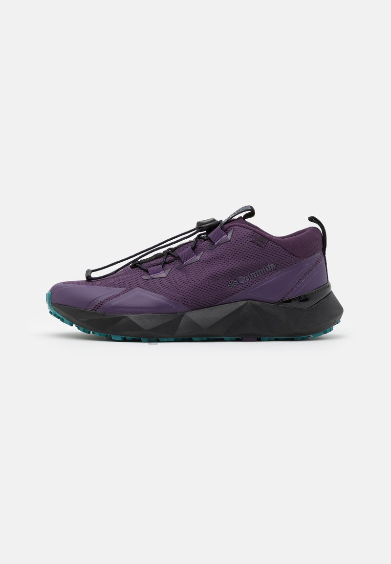 Columbia - FACET 30 OD - Hiking shoes - cyber purple/river blue
