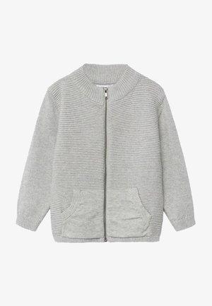 DAVICIN - Strikjakke /Cardigans - gris chiné moyen