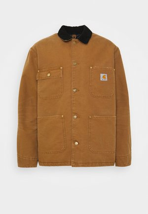 CHORE COAT DEARBORN - Jas - hamilton brown/black aged