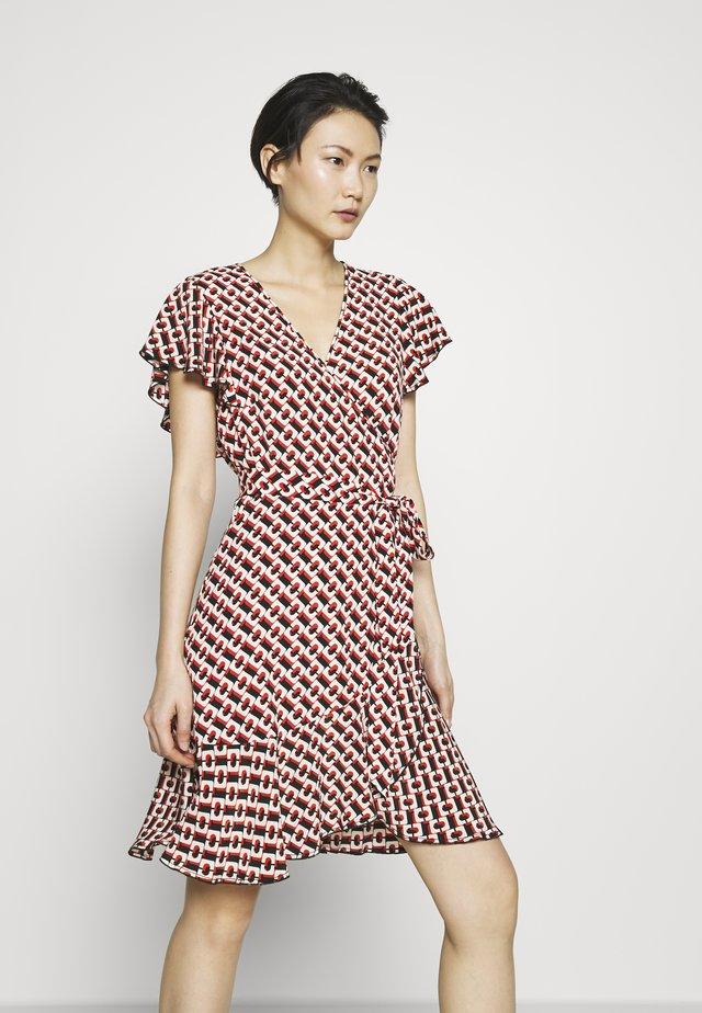 AVAYA - Korte jurk - 3d chain