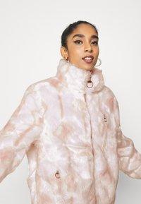 Fila - HARUTO JACKET - Winter jacket - blanc de blanc/sepia rose - 3