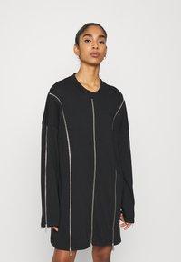 The Ragged Priest - PEEL DRESS - Jerseykjole - black - 0