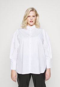 Selected Femme Curve - Button-down blouse - bright white - 0