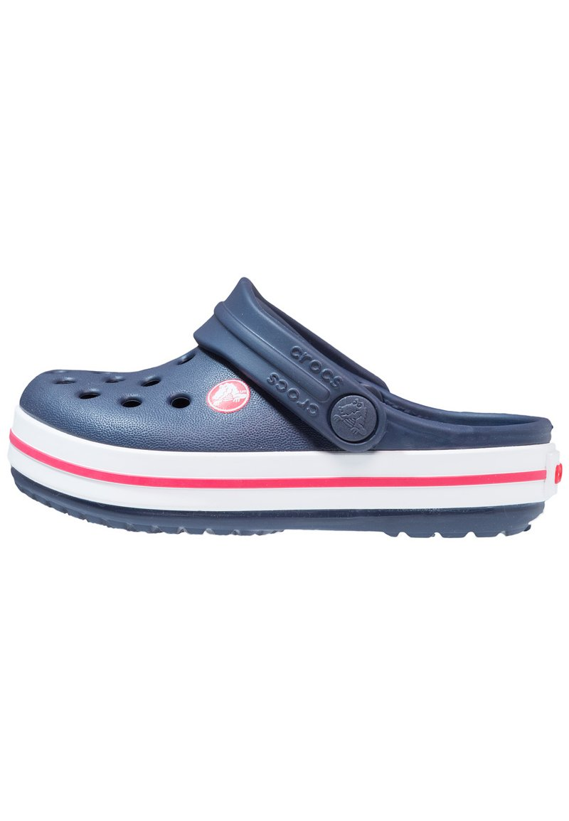 Crocs - CROCBAND - Pool slides - navy/red
