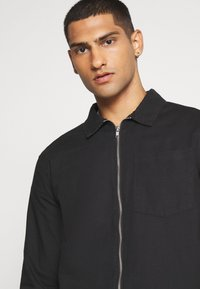 New Look - ZIP THRU  - Shirt - black - 3