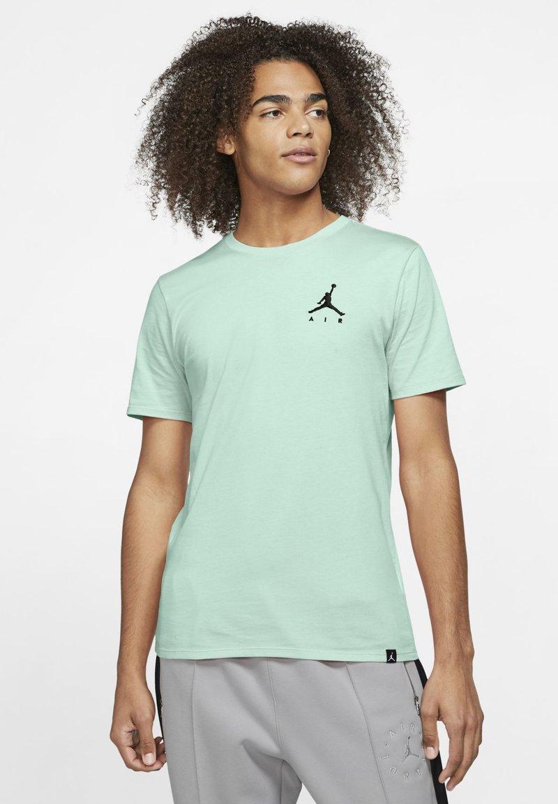 Jordan - JUMPMAN AIR TEE - T-shirt basic - igloo/black