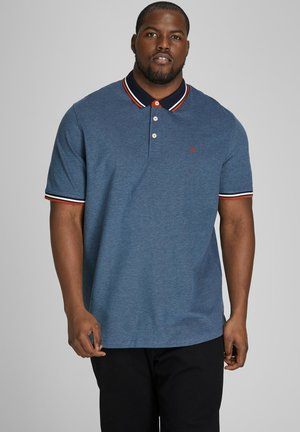 JJEPAULOS - Poloshirt - denim blue