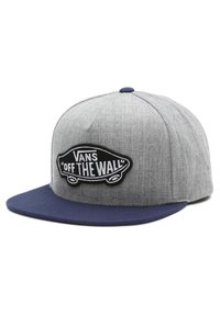 Vans - MN CLASSIC PATCH SNAPBACK - Cap - heather grey/dress blues - 2