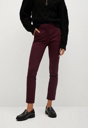 COLA - Pantalon classique - maroon