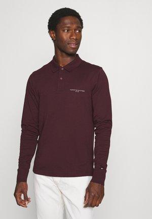 Polo shirt - deep burgundy