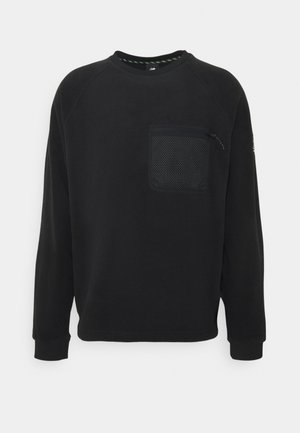 ALL TERRAIN POCKET CREW - Fleece jumper - black
