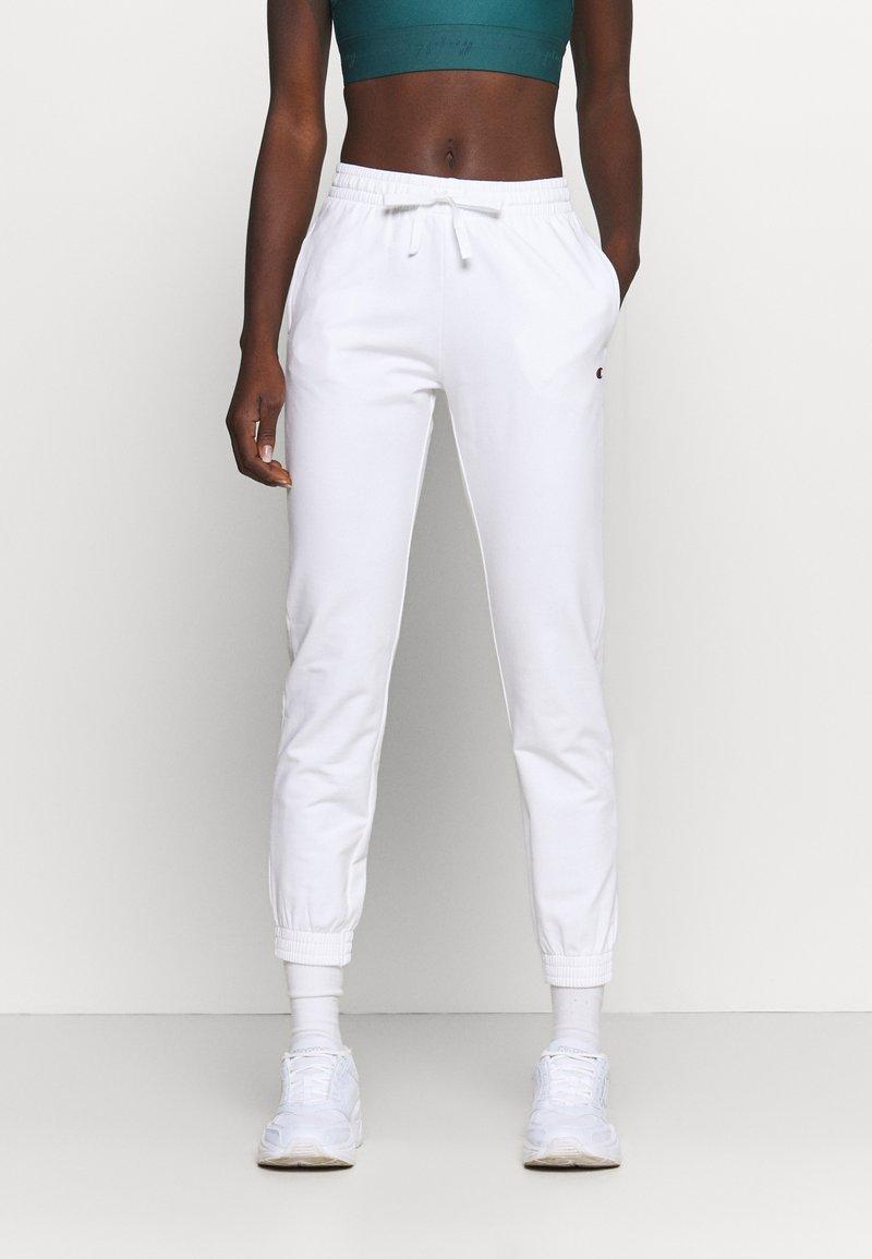 Champion - CUFF PANTS - Teplákové kalhoty - white