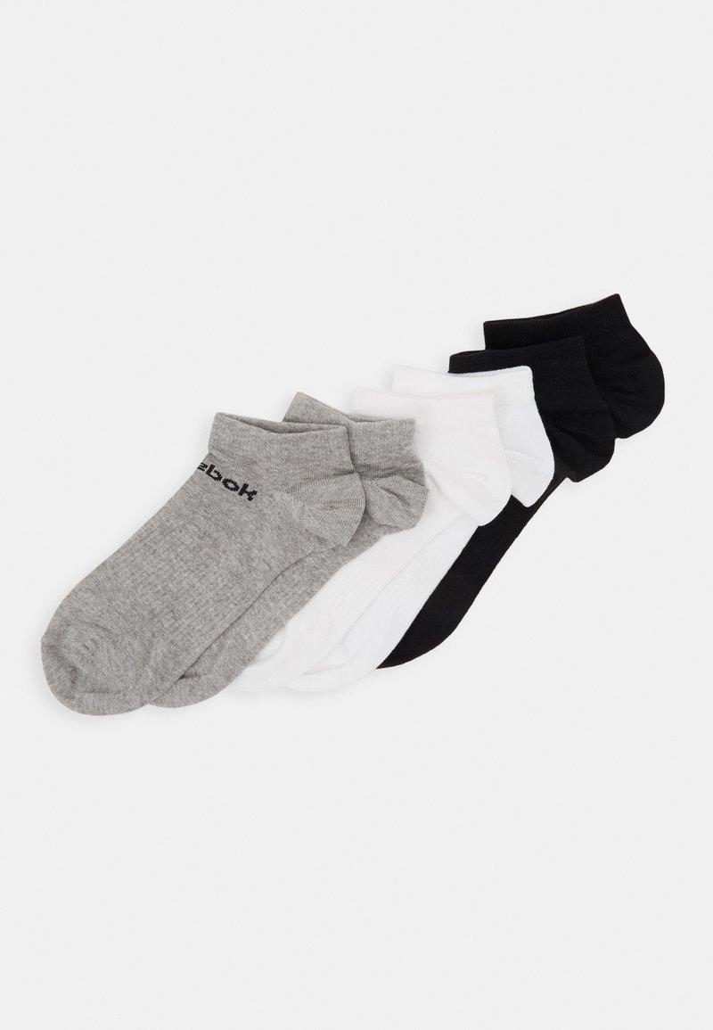 Reebok - ACT CORE INSIDE SOCK 6 PACK - Calcetines de deporte - medium grey heather/white/black