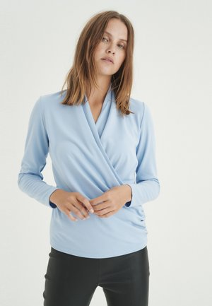 Long sleeved top - blue serenity