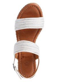 Jana - Platform sandals - white/silver - 1