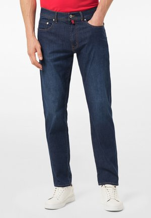 Straight leg jeans - dark blue used