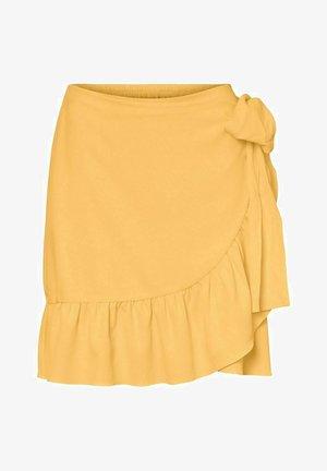 A-linjekjol - yellow