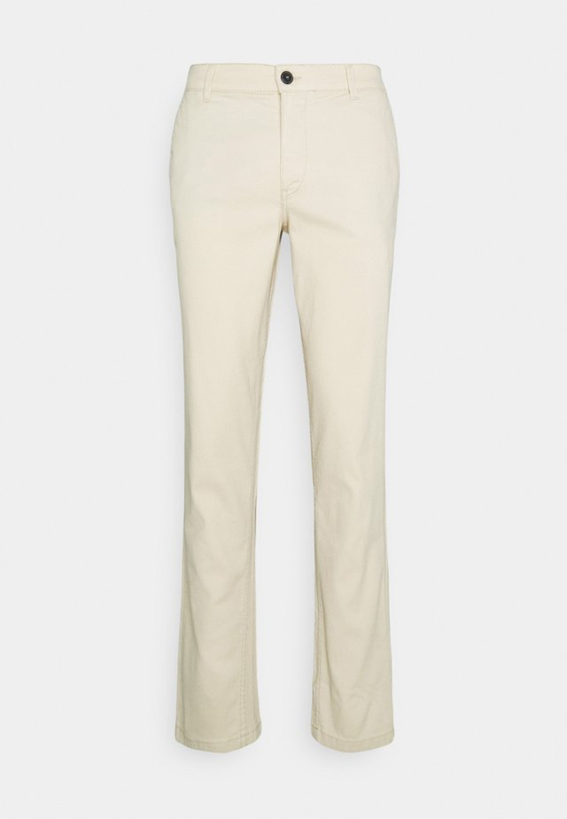 SLHSLIM CHESTER FLEX PANTS - Chinos - oyster gray