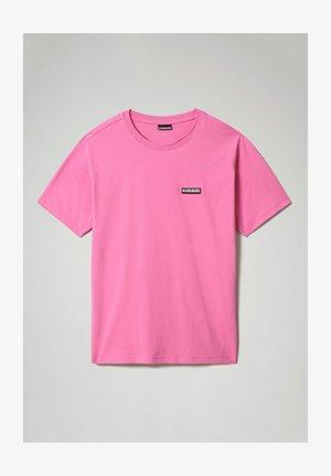 Basic T-shirt - pink super