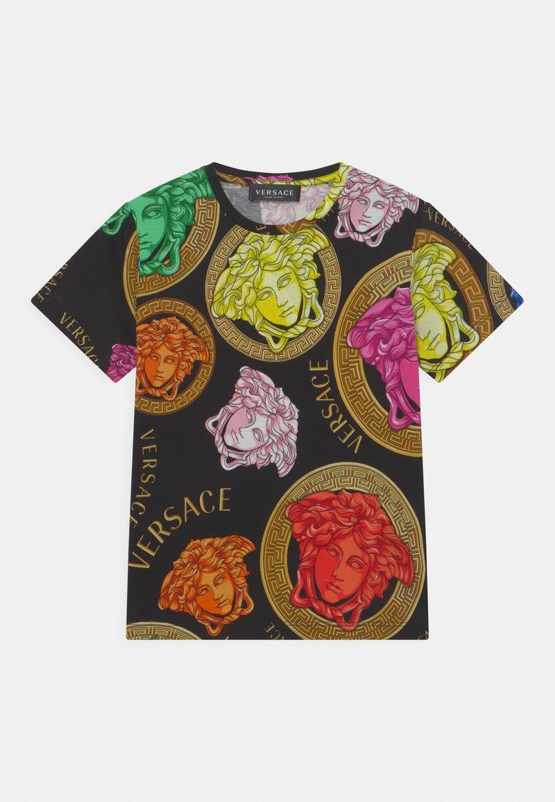 Versace - MEDUSA AMPLIFIED UNISEX - Print T-shirt - black/multicolor