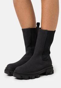 Even&Odd Wide Fit - Winter boots - black - 0
