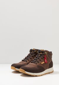 s.Oliver - High-top trainers - brown - 2