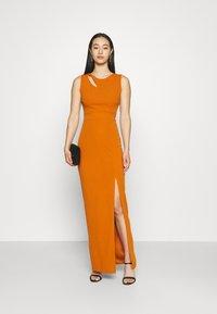 WAL G. - MELANIA CUT OUT DRESS - Společenské šaty - orange - 1