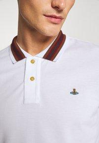 Vivienne Westwood - CLASSIC STRIPE COLLAR - Polo shirt - white - 5