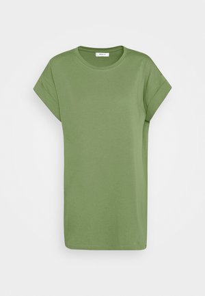 ALVA PLAIN TEE - T-shirt basic - evergreen