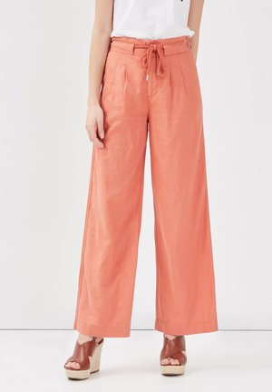 Pantalones - terracotta