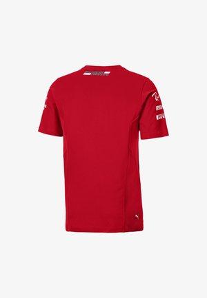 T-shirt con stampa - rosso corsa