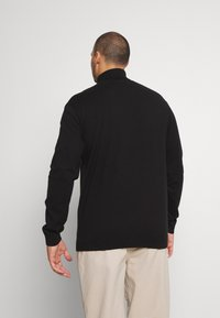 Selected Homme - SLHBERG ROLL NECK  - Jumper - black - 2