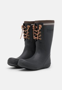 Bisgaard - BOOT LACE THERMO - Wellies - black - 1