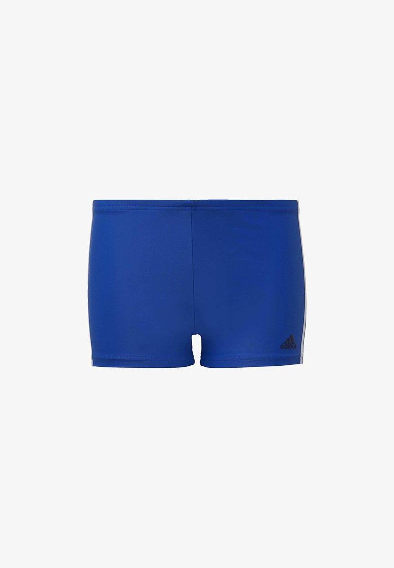 adidas Performance - FIT 3 STRIPES PRIMEBLUE BOXER SWIM TRUNKS - Swimming trunks - blue