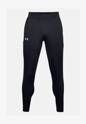 FLY FAST - Tracksuit bottoms - black