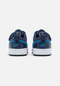 Nike Sportswear - COURT BOROUGH 2 UNISEX - Trainers - midnight navy/imperial blue/black - 2