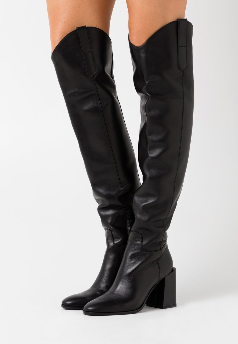 Furla - ESTER BOOT  - High heeled boots - nero