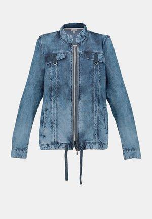 Denim jacket - bleached denim