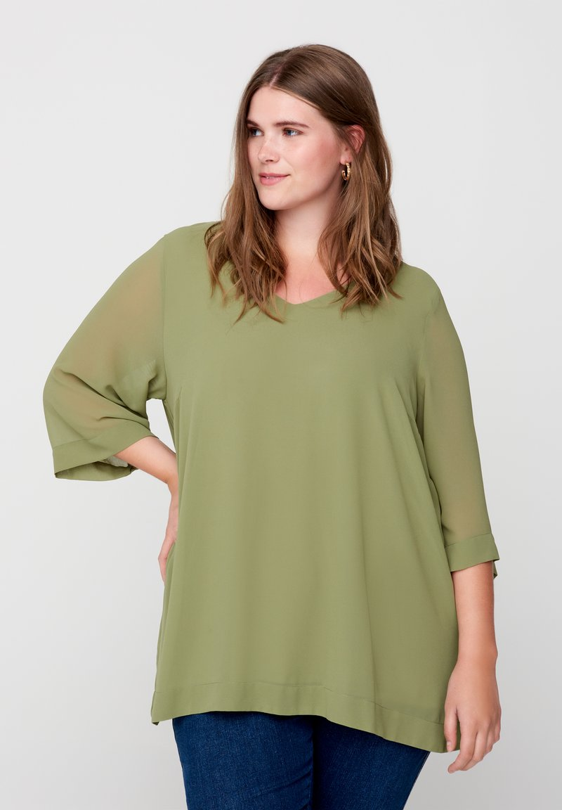 Zizzi - Blouse - green